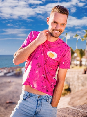 Photo examples of t-shirts photo session, Adeje, Tenerife