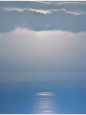 Atlantic ocean by night