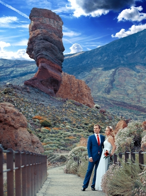 Weddings in Teide national park
