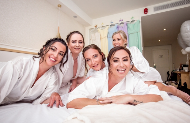 Preparation for wedding ceremony in hotel of Tenerife