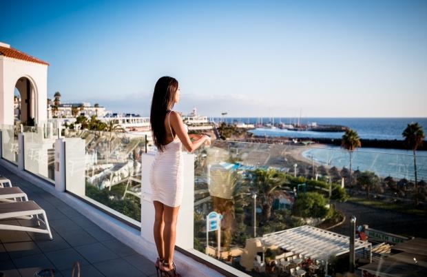 Model shooting in Tenerife