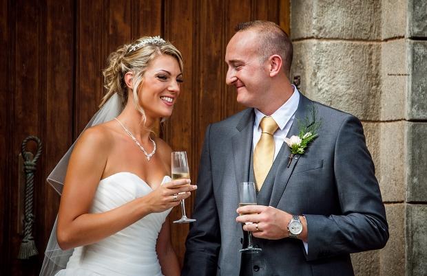 Wedding in the castle of Tenerife